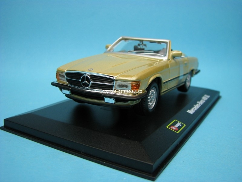 Mercedes-Benz 450 SL gold 1:32 Bburago